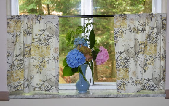 Bird Kitchen Curtains Custom Inspiration Design