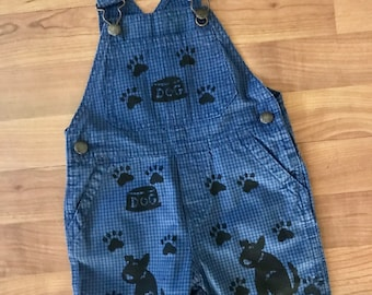 18Mo Dog Overalls, Oshkosh, 18mo Boy Clothes, Gender Neutral Kids, Toddler Boy Clothes, Puppy Dog First Birthday