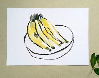 Bananas art print