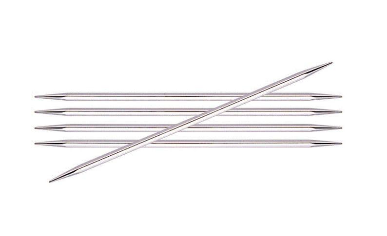 15 cm Knitter/'s Pride Nova Cubics Platina Double Point Knitting Needles 6 inch 15 cm 6 inch