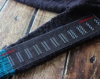 Handy Knitting Gauge Ruler - Ann Budd Knits