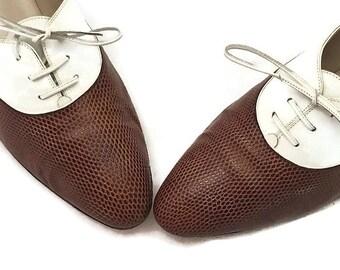 a5ef6663bdd0 Chaussures richelieu et à lacets pour femmes