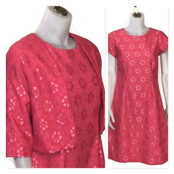 60s Lace Dress, Bolero Jacket, Dress and Jacket, P