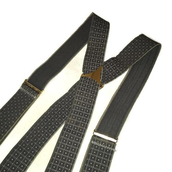 Vintage Suspenders, Elastic Suspenders, X Back Sus
