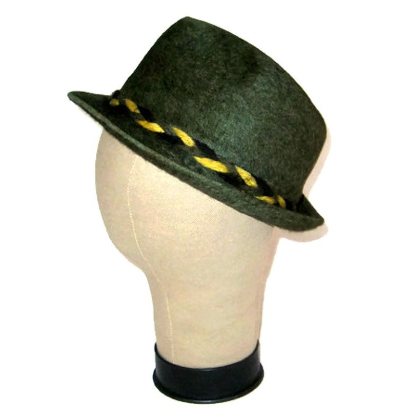 60s Dark Khaki Hat Royal De Luxe Stetson 1960 Fur Felt Fedora  eb49aa3e3967