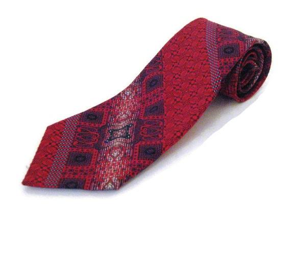 1960s Wide Tie  Wide Designer Tie Givenchy Tie Fus