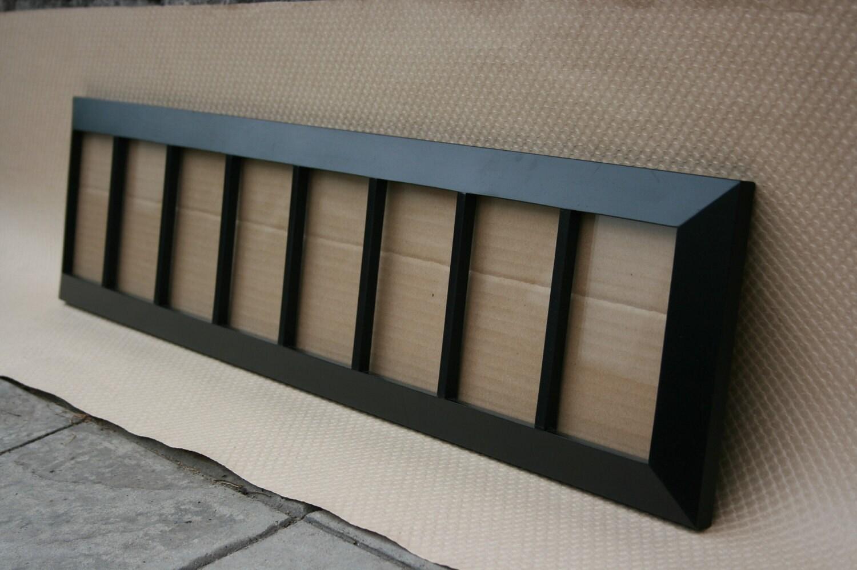 9-apertura marco hecho a mano madera pintada negro | Etsy
