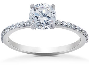 50570898d35fa Lab diamond ring   Etsy