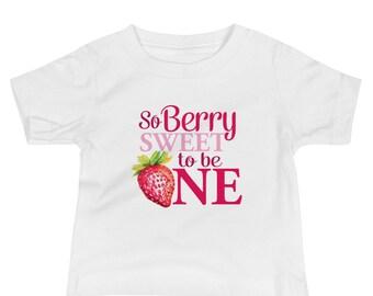 Strawberry Birthday Shirt, Strawberry 1st Birthday Shirt, Strawberry First Birthday outfit, Strawberry Birthday Outfit, So Berry Sweet