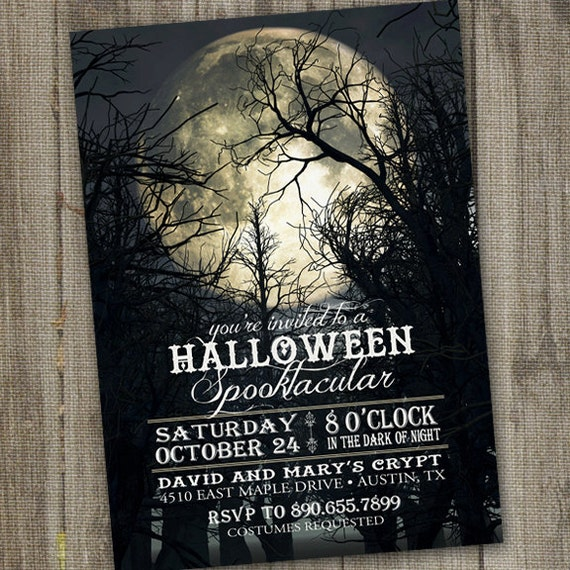 halloween party invitation halloween invitation for adults