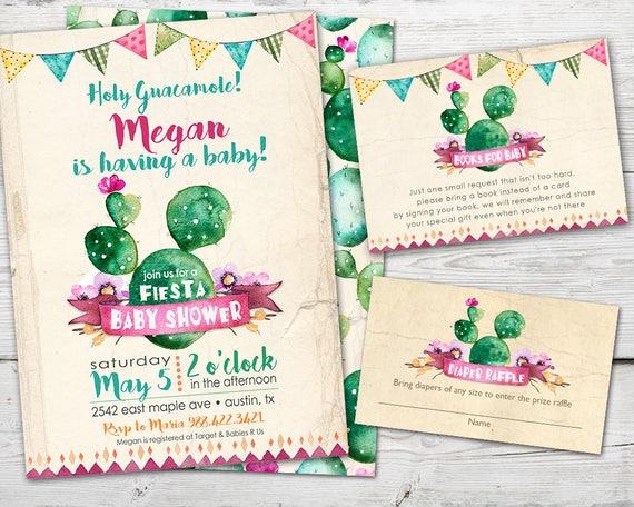 Cinco De Mayo Baby Shower Invitation Fiesta Baby Shower Etsy