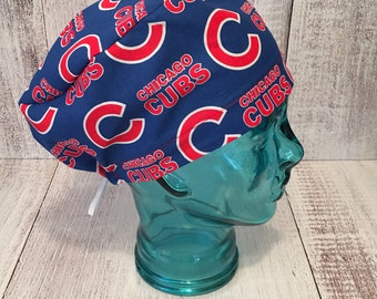 687e47d2f13 Chicago Cubs Surgical cap  Chicago cubs scrub cap  Chicago Chemo cap  World  Series champions surgical cap