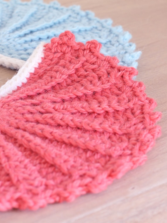banderines de crochet patrón de ganchillo. Patrón ganchillo | Etsy