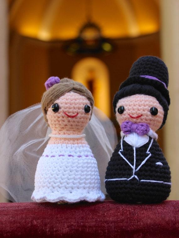Amigurumi novia y novio patrón ganchillo.   Etsy