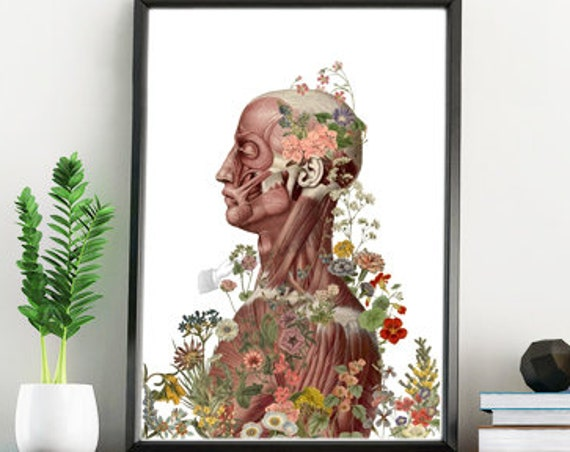Nature is on me Human Anatomy wall art SKA144WA4