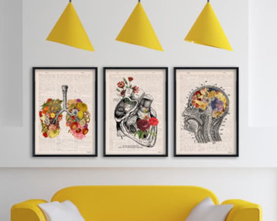 Christmas gifts for her SALE choose ANY Three Book page reproduction A3 sized posters ONLY fifty dollars  SET001