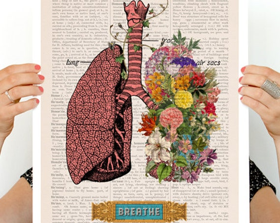 Christmas gifts for mom Colorful Lungs Poster, anatomy art, wall art, wall decor, poster anatomy poster, medical student gift SKA130PA3