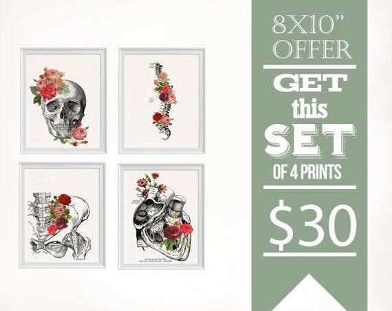 Sale 8x10 sized Prints, Sale wall art, Home decor poster set, Wall art selection, matching prints set  SET007