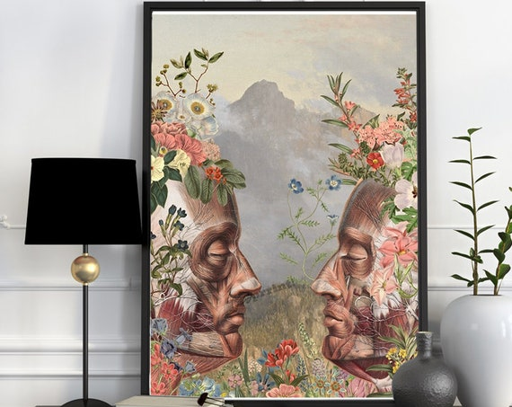 Christmas gifts for mom We are Nature, anatomy art,  wall art, wall decor, anatomy, poster, muscles art, muscles, medical art,   SKA156WA3