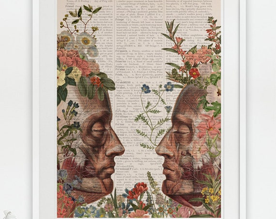 We are Nature. anatomy art wall decor, anatomy, poster, muscles art, muscles, medical art gift, SKA145PA3