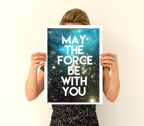 Christmas gifts for mom Star wars inspirational poster, digital print Wall decor, Star wars inspired, Wall Hanging star wars TYQ202WA3