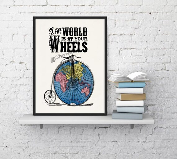 The world at your weels bicycle travel collage  TVH006WA4
