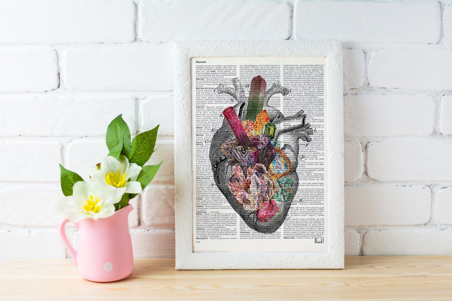 Human heart, Minerals and stones heart. Anatomy art dictionary page ...