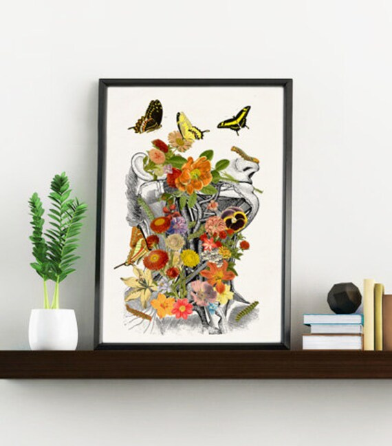 Springtime on me Anatomy art decor SKA087WA4