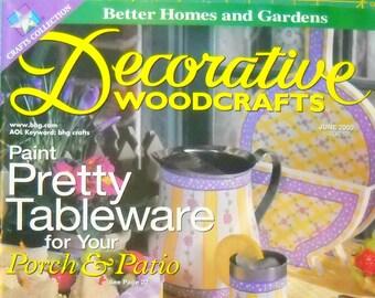 BHG Decorative Woodcrafts SIX back issues