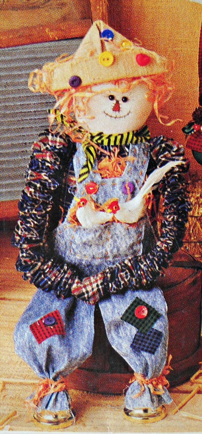 McCall/'s Crafts P441 Factory Folded Uncut Vintage 1993 Halloween Christmas Bungee Bells Holiday Dolls pattern