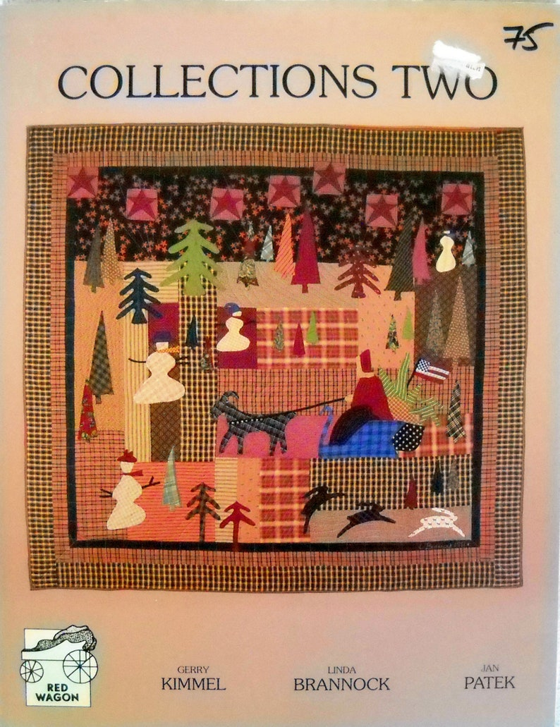 Red Wagon Collections Two Quilting Book by Gerry Kimmel Linda image 0