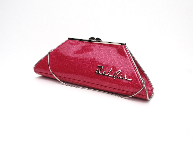 Couture Vintage Car inspired Handbag. Handmade in the USA image 0