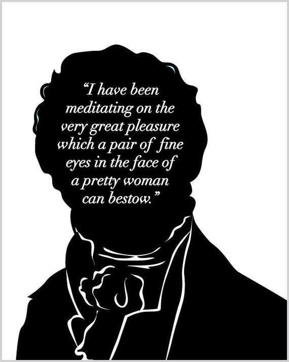 Mr Darcy Quotes Magnificent Jane Austen Mr Darcy Quote Literary Art Print Pride And Etsy