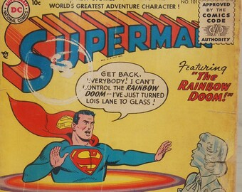 Superman #101, The Rainbow Doom, DC Comics