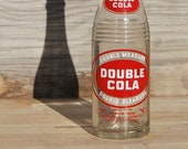 Six Pack of Antique Double Cola Bottles