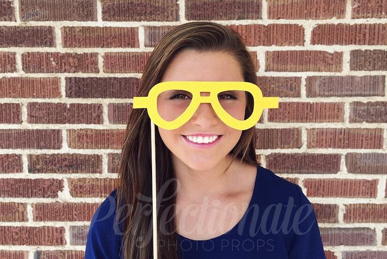 3e8852595d Cop Glasses Prop Glasses Stiff FELT Cop Glasses