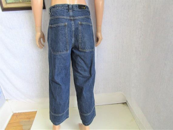 "90s 30"" x 31"" Xtreme Denim Skater Jeans Dark Blue"