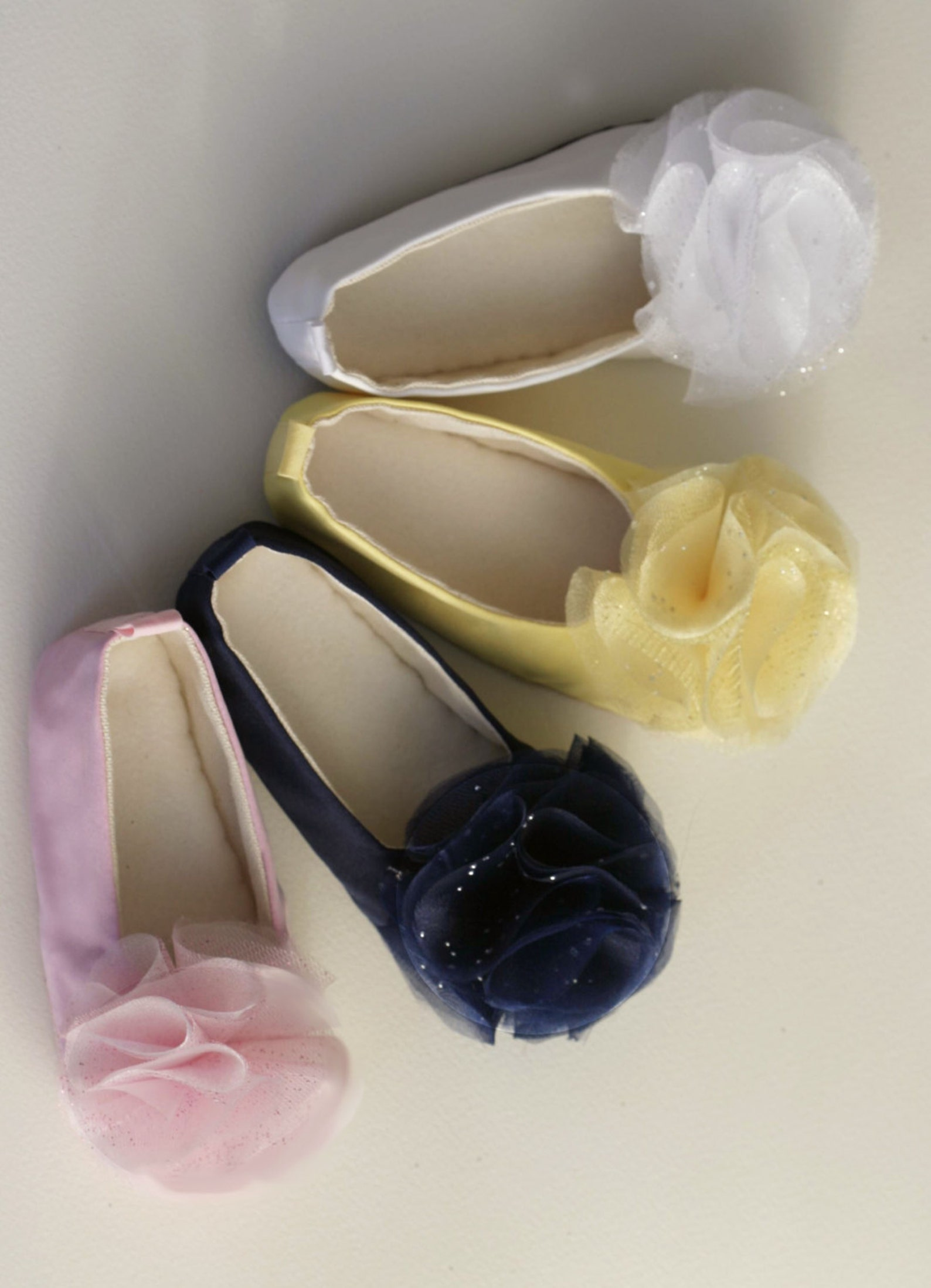 navy blue flower girl shoe, little girl nautical wedding shoe, toddler ballet slipper, baby ballet flat, christening, baptism, b