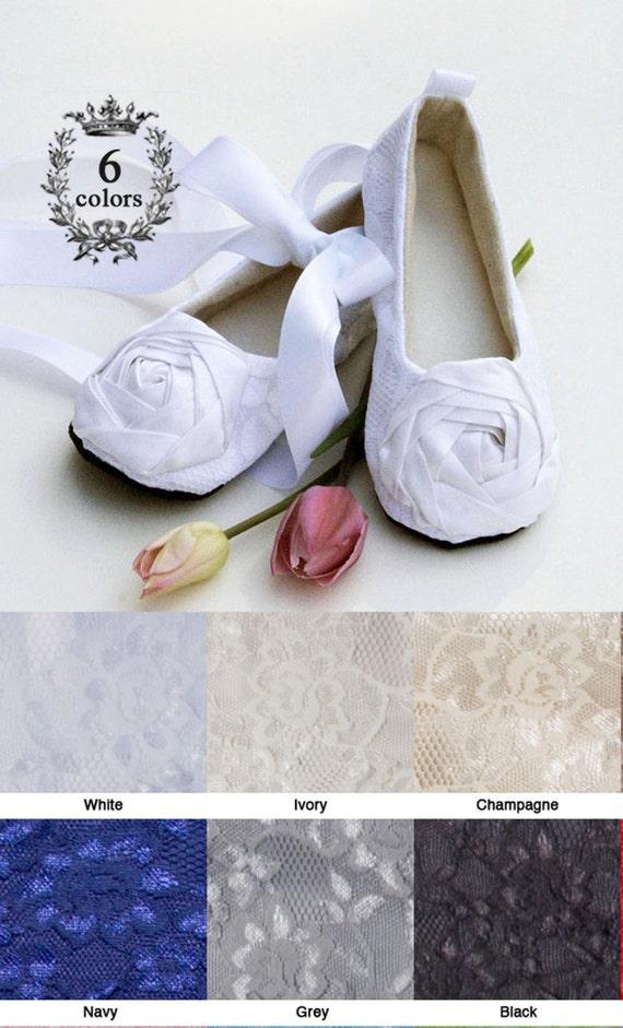 9a25283c3e12c White Toddler Flower Girl Shoe, Easter Baby Ballet Slipper, Toddler Lace  Wedding Shoe, Girls Dress Shoe, Christening Shoe, Baby Souls Shoes