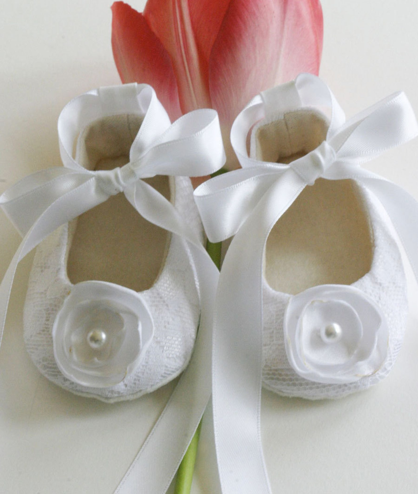 navy lace baby shoe, baby girl ballet slipper, toddler flower girl, nautical wedding ballet flat, crib shoe, dance, christening,