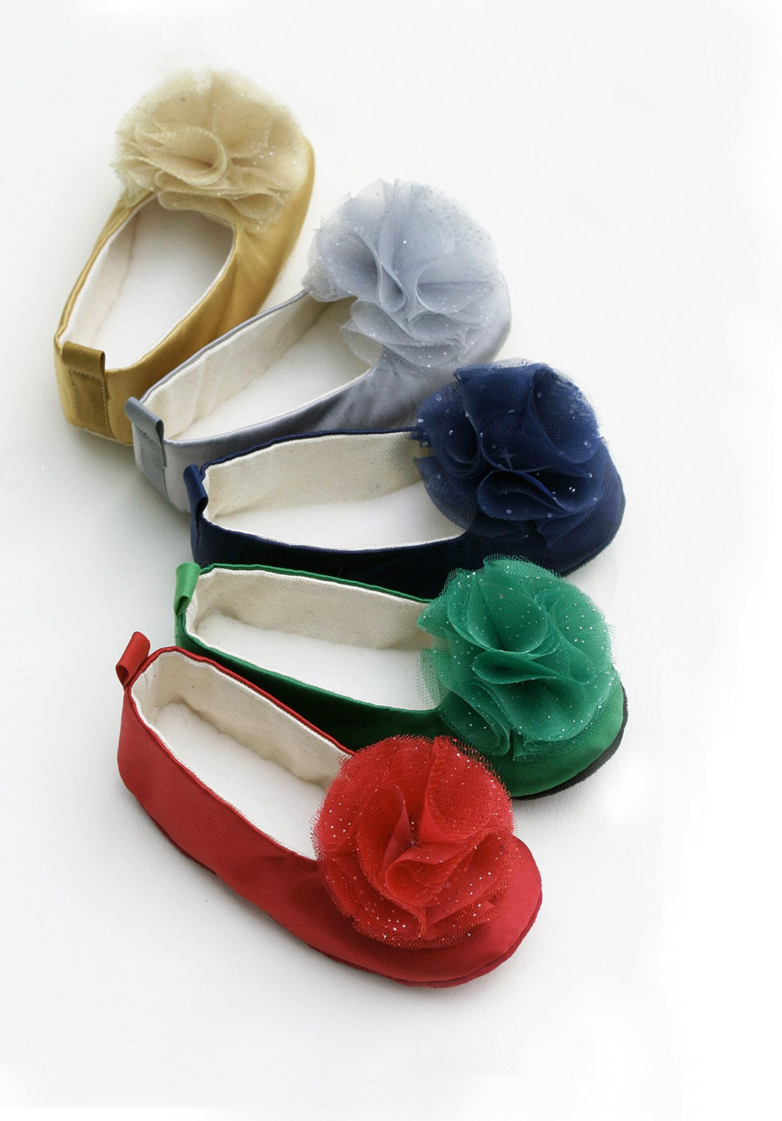 satin pastel flower girl shoe, baby, toddler ballet slipper, ballet flat, girls wedding shoe, special occasion, holiday dress up