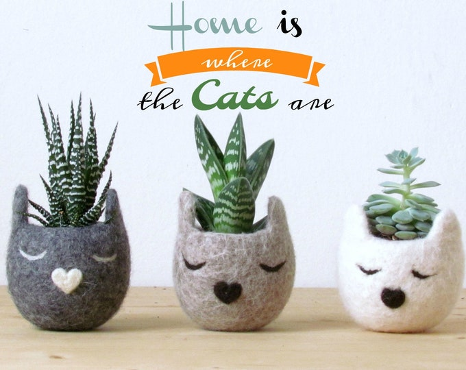 Cat Lovers Planters