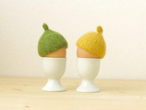Set of 4 Cactus Egg Cosies