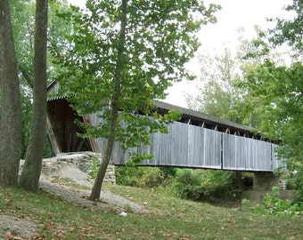"From the ""Appalachian Scenic"" Series.  Covered Bridge"