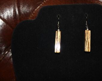 Spalted Oak Earrings