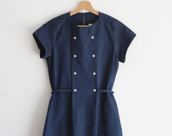 Woman dresses, cotton dress woman, jeans dress, summer dress, chambray dress, denim dress, casual dress, nursing dress, ethical clothing