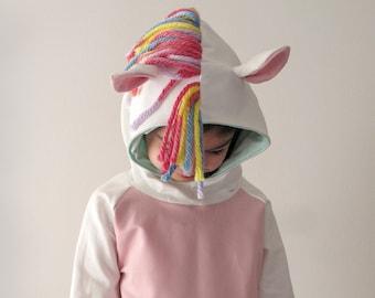 Pony hoodie, carnival costume, children costume, pony costume, pony sweatshirt, pony sweater, kids hoodies