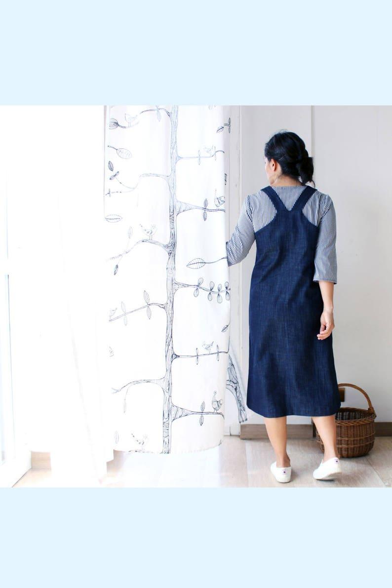 Women dungarees dress jeans dungarees pinafore dress denim  d9c4fb47502