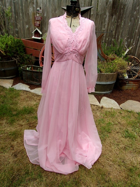Pink Gown 1960's