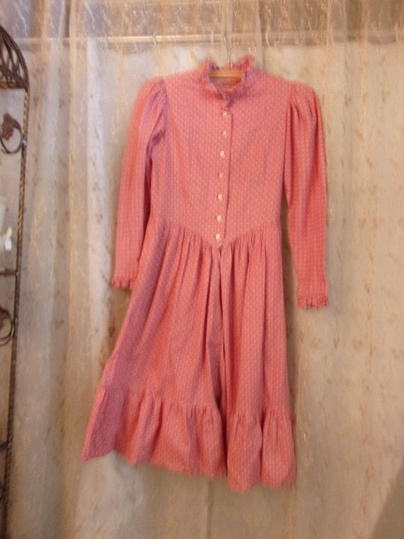 Childs Calico Country Dress